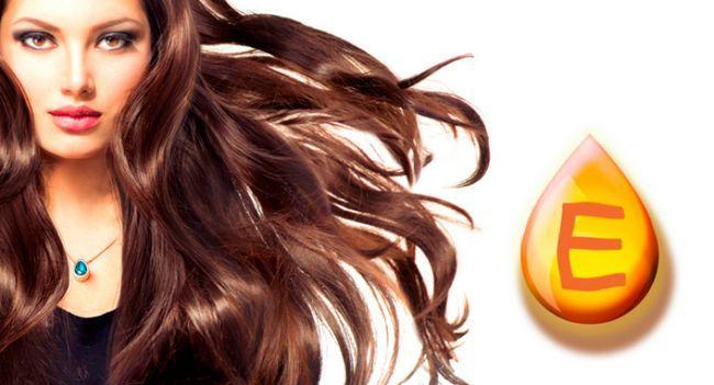 Маска для волосся з вітаміном е: даруємо локонам молодість