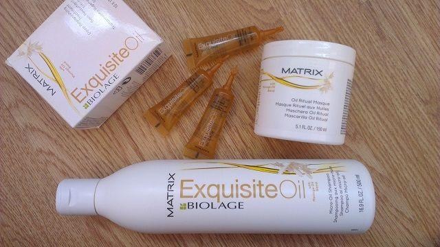 Масло для волосся Матрикс Біолаж, маска і шампунь