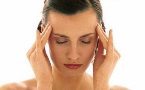 Масаж при головному болю