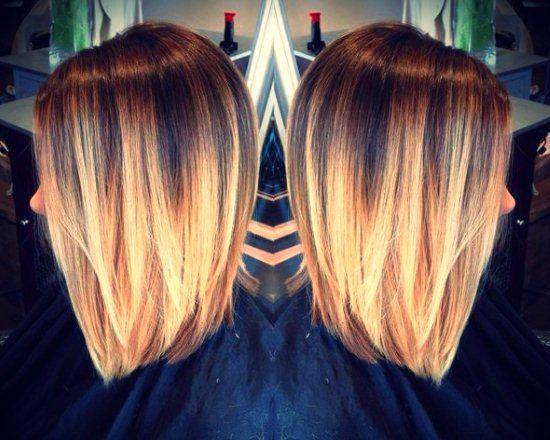 Мелірування кучерявого волосся коротких стрижок