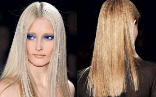 Мода на гладкі зачіски