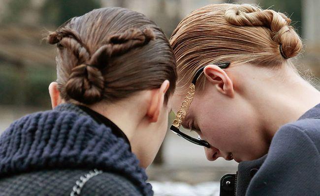 Модні зачіски для дівчат і жінок