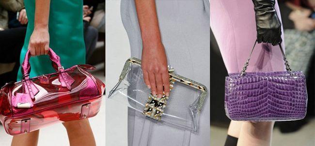 модні сумки прозорі