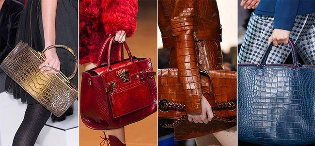 модні сумки під рептилію