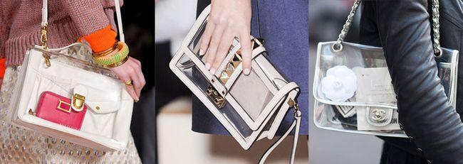 гелеві модні сумки