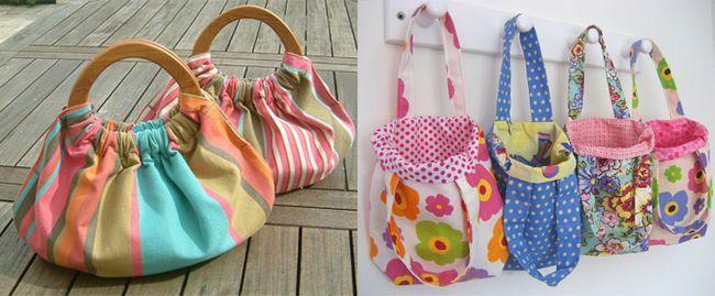 тканинні модні сумки