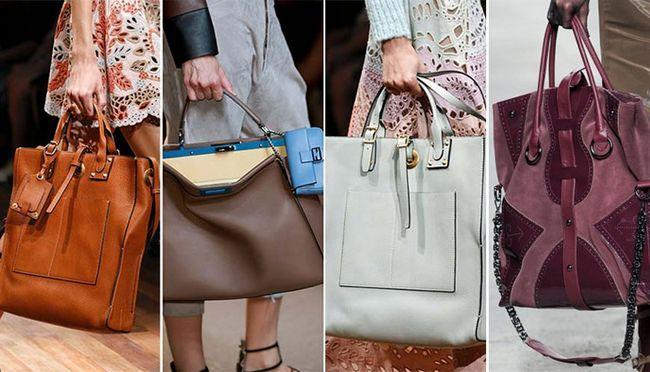 великі модні сумки