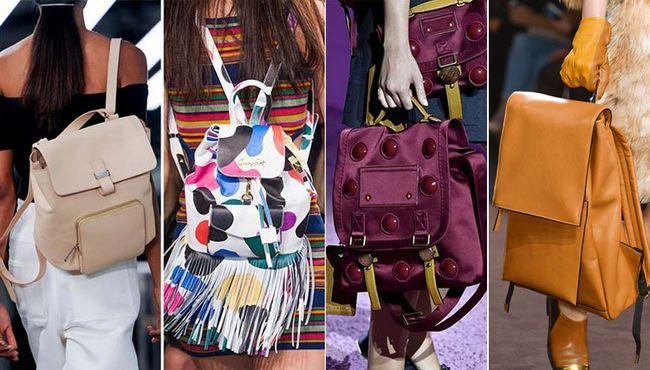 модні сумки рюкзаки