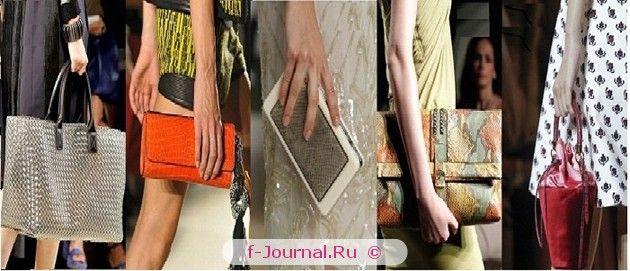 Модні сумки весна-літо 2017 - фасон