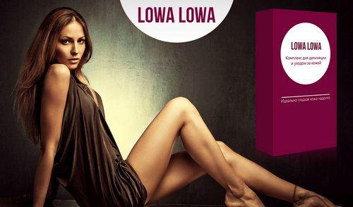 Набір lowa-lowa для депіляції