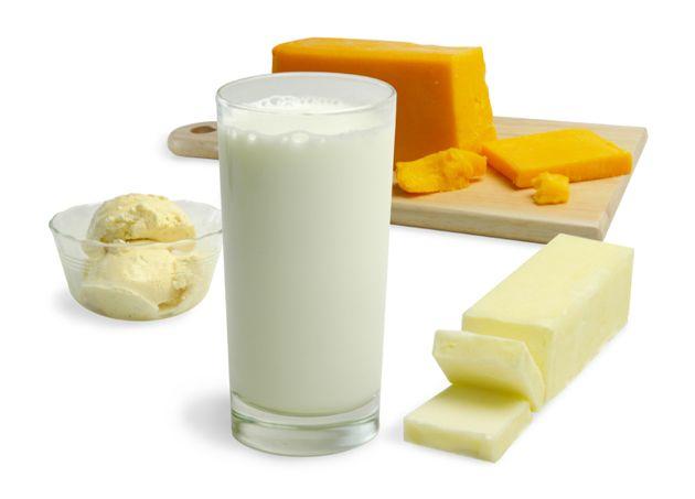 Знежирені молочні продукти - склад, калорійність і вплив на здоров`я