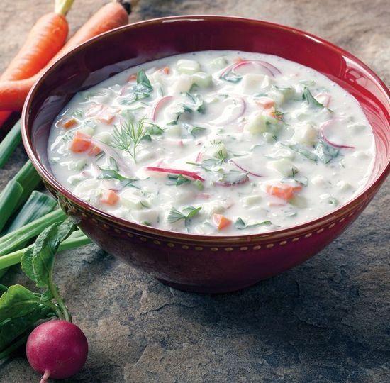 Окрошка на кефірі: рецепти приготування класичного і дієтичного страви