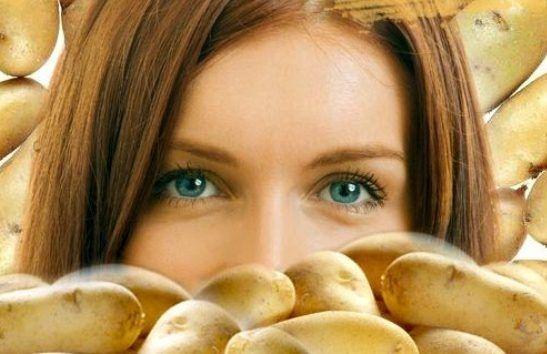 Рецепт маски для обличчя, що омолоджує з картоплі
