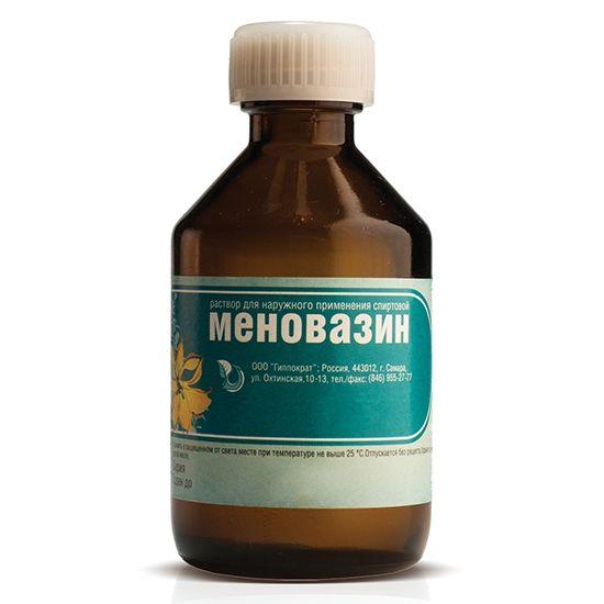 Від чого допомагає меновазин: склад, показання, протипоказання