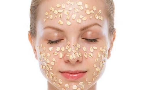 Маски для обличчя з вівсяних пластівців