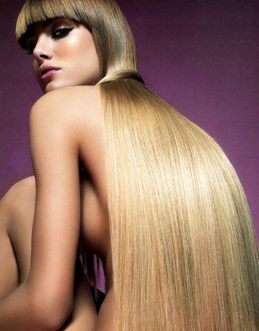 Красиві доглянуте волосся