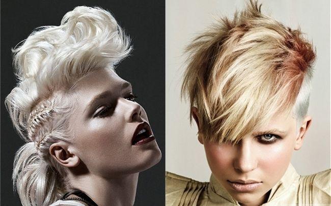 Зачіска ірокез для жінок. Як зробити ірокез самостійно?