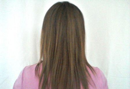Зачіска з гумкою навколо голови