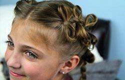 Зачіски для дівчаток - фото та поради