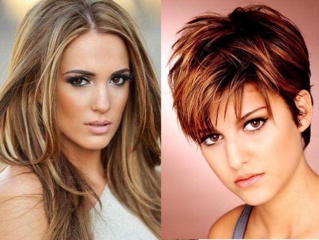 Зачіски для овального особи. Як вибрати стрижку і укладку?