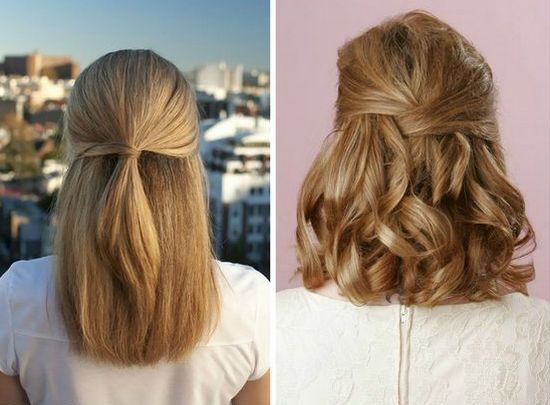Зачіски для середньої довжини волосся в домашніх умовах