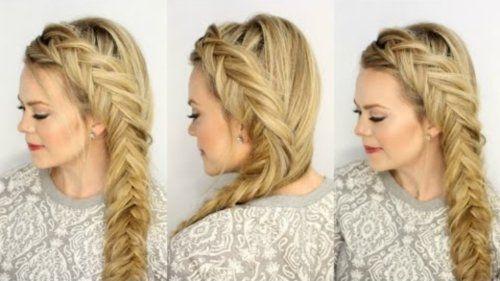 Зачіски з косами на довге волосся покроково