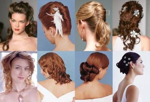 Зачіски, вечірні та повсякденні