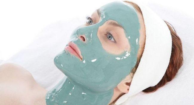 Застосування альгінантних масок для обличчя