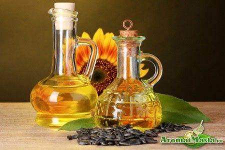Застосування соняшникової олії для догляду за волоссям