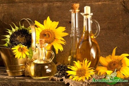 Застосування соняшникової олії в косметології