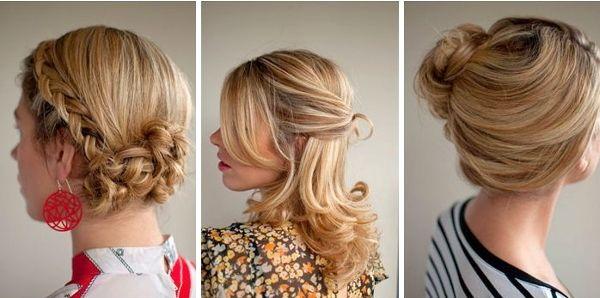 Прості зачіски на вечір. Як зробити зачіски з кучерями і квітка з волосся? Ефектні ідеї