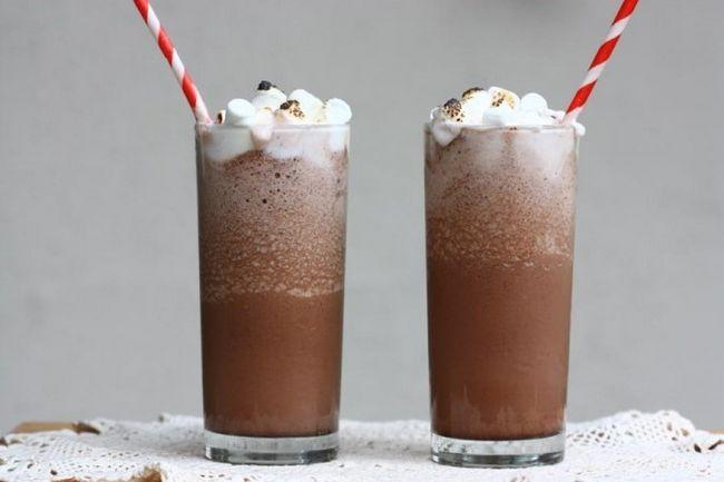 Коктейль з додаванням шоколаду