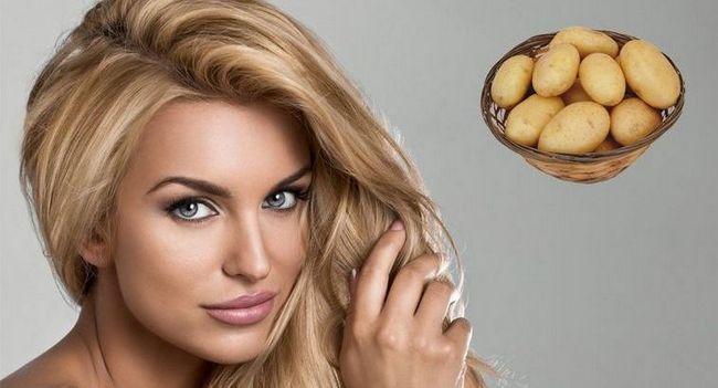 Рецепти масок для обличчя з картоплі
