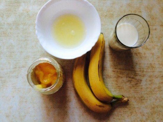 Рецепт смузі в блендері з бананом: склад