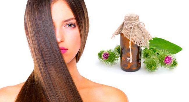 Реп`яхову олію для волосся - те, що доктор прописав!