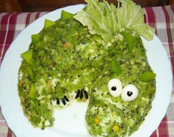 Оригінальний салат Нефритовий браслет
