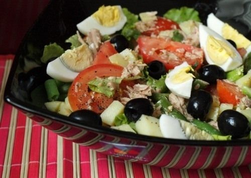 Салат для годуючих мам Поживний