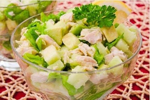 Салат для годуючих мам Святковий