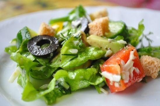 Салат для годуючих мам Екзотика