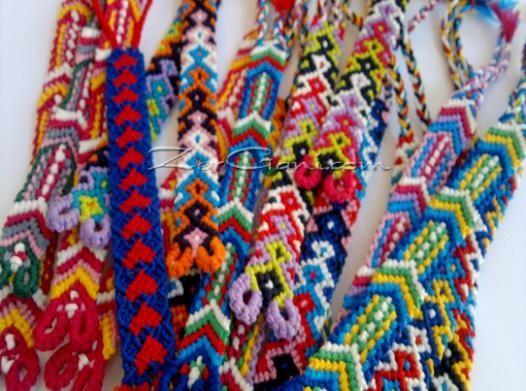 Схеми фенечек прямим плетінням