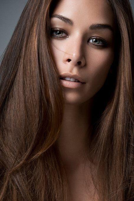 Шоколадний колір волосся 10 фото