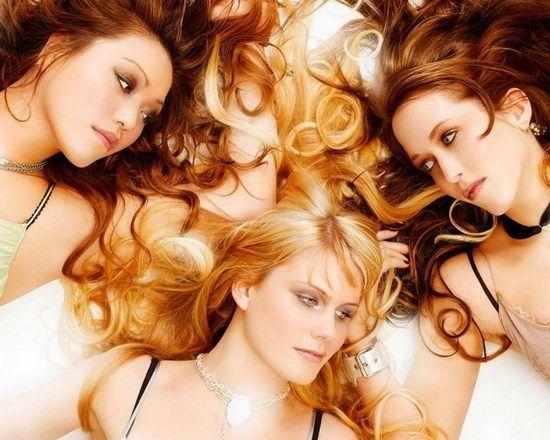 Колір волосся шоколадний блондин
