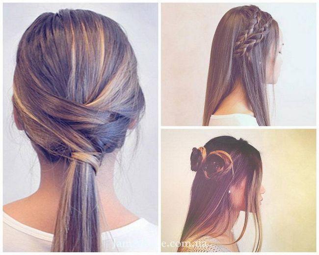 Сучасні і прості зачіски для дівчаток в школу