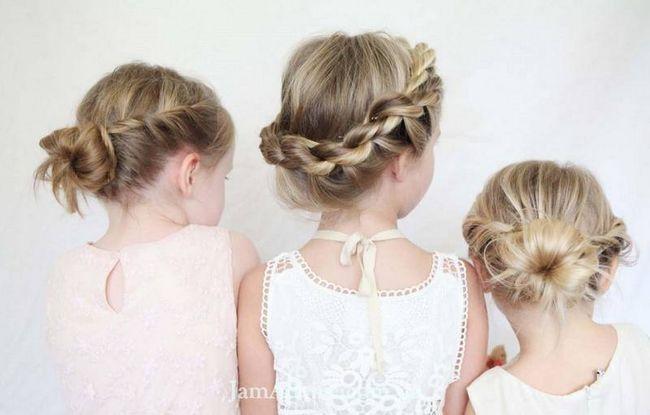 Стильні зачіски для дівчаток на кожен день