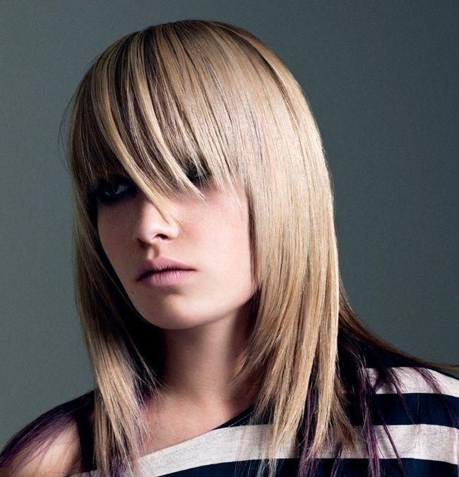 Стрижка каскад на середні волосся. Техніка виконання і укладання