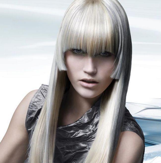 Стрижки на довге волосся з чубчиком. Зачіски на довге волосся з чубчиком