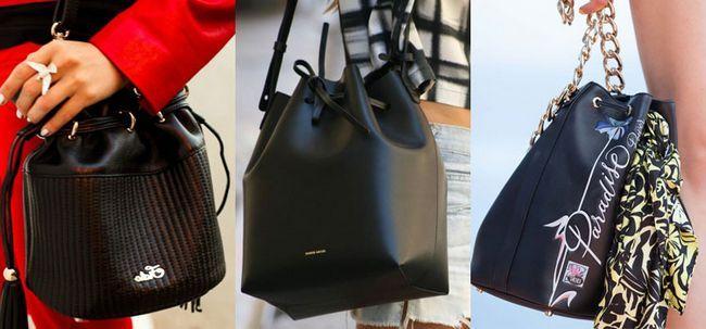 сумка-мішок чорна