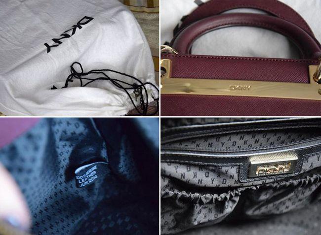 Як відрізнити оригінальні сумки DKNY від підробки