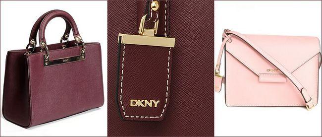 Сумки DKNY saffiano