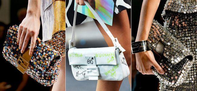 Стильні сумки Фенди моделі багет